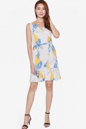 78eb61238dd SOFIA DREAMY PASTEL WRAP DRESS (SUMMER)