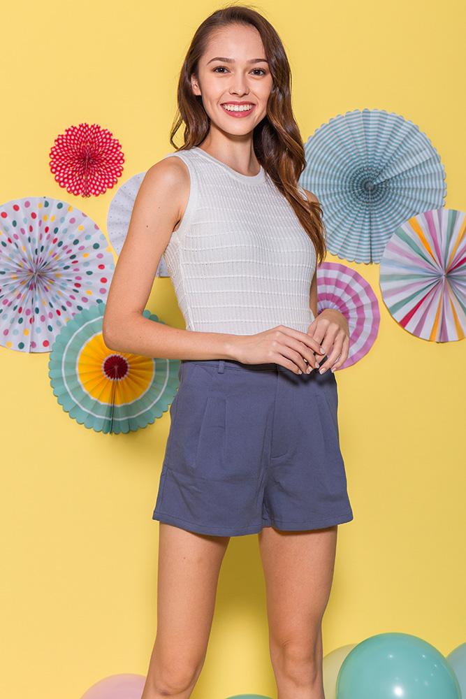 Taylor Shorts (Ash Blue)