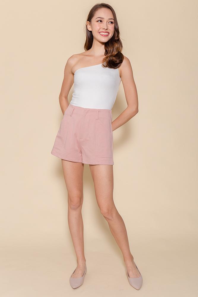 Hello Vacay! Shorts (Pink)