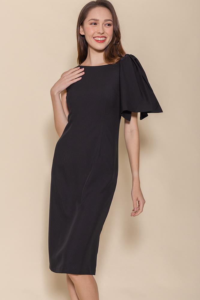 Paris Pencil Dress (Black)