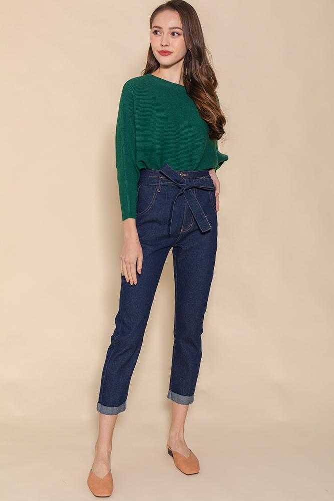 Mason Soft Cigarette Jeans (Navy)