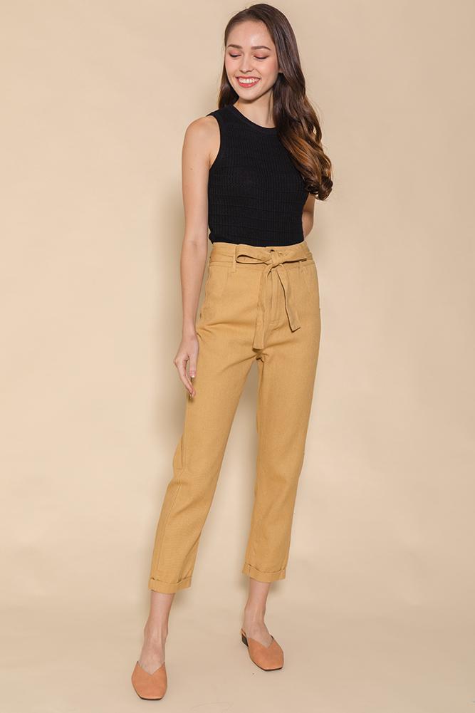 Mason Soft Cigarette Jeans (Camel)